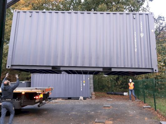 Un deuxième container de stockage pour GEOSCOP