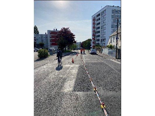 Trainé électrique et sismique le long du tracé de la future ligne de Tramway et BHNS de Brest